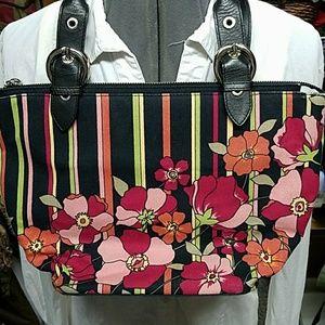 Talbots Floral handbag